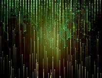 Fundo colorido tecnologico moderno abstrato ilustração stock
