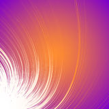 Fundo colorido vívido com motivo espiral Espiral abstrata, co ilustração royalty free