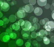 Fundo colorido verde do bokeh Imagens de Stock
