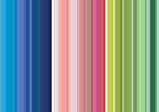 Fundo colorido vertical das listras Fotos de Stock