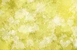 Fundo com amarelo das manchas Fotos de Stock