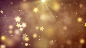 Fundo com as estrelas agradáveis do voo foto de stock royalty free
