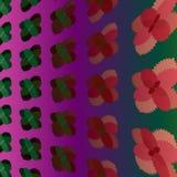 Fundo com as folhas de hortelã estilizados Foto de Stock