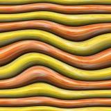 Fundo com as listras curvadas abstratas da cor imagens de stock