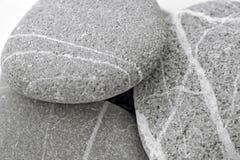 Fundo com as pedras peeble redondas Imagem de Stock