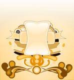 Fundo com bandeira Fotos de Stock Royalty Free
