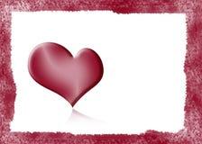 Fundo com coração Imagens de Stock