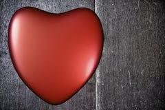Fundo com coração no dia de Valentim Fotografia de Stock