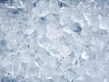 Fundo com cubos de gelo Imagem de Stock