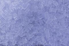 Fundo com cubos de gelo Fotos de Stock
