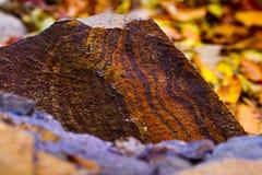 Fundo com estrutura interessante da pedra Fotografia de Stock Royalty Free