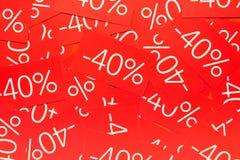Fundo com etiquetas Imagem de Stock