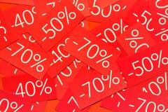 Fundo com etiquetas Foto de Stock