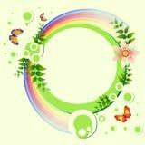Fundo com flores Imagens de Stock Royalty Free
