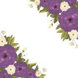 Fundo com flores Imagem de Stock