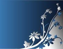Fundo com flores Fotografia de Stock
