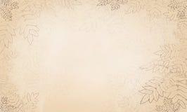 Fundo com folhas ilustração stock
