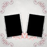 Fundo com frames Fotos de Stock Royalty Free