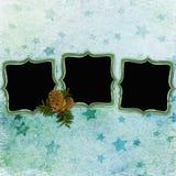 Fundo com frames Imagem de Stock Royalty Free