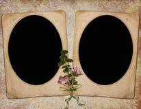 Fundo com frames Fotografia de Stock Royalty Free