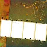 Fundo com frames Foto de Stock Royalty Free