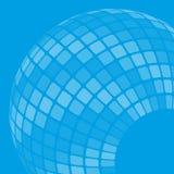 Fundo com globo Foto de Stock