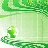 Fundo com globo Imagem de Stock Royalty Free