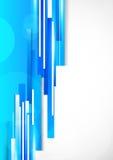 Fundo com linhas azuis Foto de Stock Royalty Free