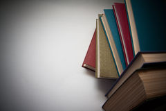 Fundo com livros imagem de stock
