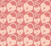 Fundo com o fechamento cor-de-rosa Imagem de Stock