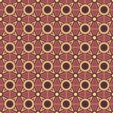 Fundo com ornamento geométricos Fotografia de Stock