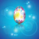 Fundo com ovos da páscoa Foto de Stock