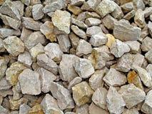 Fundo com pedras Fotografia de Stock