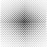 Fundo com pontos, de pequeno a grande ilustração do vetor