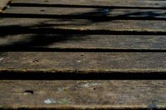 Fundo com pranchas de madeira Fotos de Stock Royalty Free