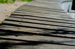 Fundo com pranchas de madeira Foto de Stock