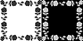 Fundo com rosas Fotografia de Stock