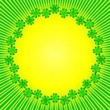 Fundo com sol e inteligente abstratos (vetor) ilustração royalty free