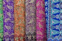 Fundo com testes padrões na textura da tela Foto de Stock Royalty Free