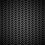 Fundo com textura preta sem emenda do carbono Ilustração Royalty Free