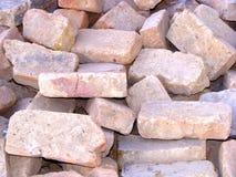 Fundo com tijolo velho Foto de Stock Royalty Free