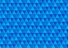 Fundo com triângulos em cores frias imagem de stock