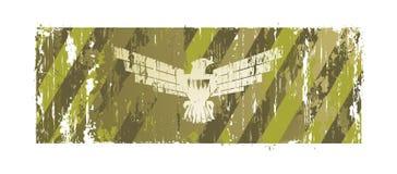 Fundo com uma águia Foto de Stock
