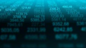 Fundo comercial futurista do Internet da partícula ilustração stock