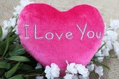Fundo completamente do amor Fotografia de Stock Royalty Free