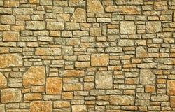 Fundo completo do quadro da parede de pedra Imagem de Stock