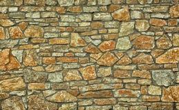 Fundo completo do quadro da parede de pedra Foto de Stock Royalty Free