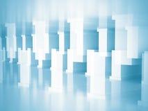 Fundo conceptual da construção do projeto da arquitetura Imagem de Stock Royalty Free
