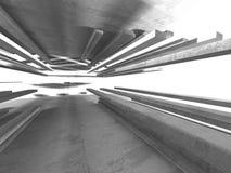Fundo concreto geométrico abstrato da arquitetura Fotografia de Stock