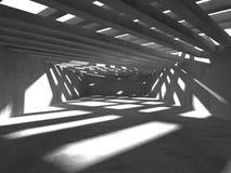 Fundo concreto geométrico abstrato da arquitetura Imagens de Stock